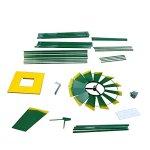 8-Ornametal-Steel-Windmill-Yard-Garden-Wind-Mill-Weather-Vane-Weather-Resistant-0