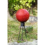 Achla-Designs-10-Inch-Gazing-Ball-Frosted-0-0
