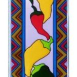 Chili-Peppers-Vertical-Art-Glass-Panel-Wall-Hanging-Suncatcher-42-x-10-0