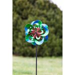 Evergreen-Serentiy-Outdoor-Safe-Kinetic-Wind-Spinning-Topper-Pole-Sold-Separately-0-1