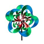 Evergreen-Serentiy-Outdoor-Safe-Kinetic-Wind-Spinning-Topper-Pole-Sold-Separately-0