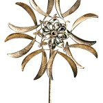 Gardman-8435-Cornflower-Wind-Spinner-Border-Stake-63-High-x-20-Wide-0