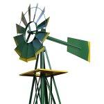 HomGarden-8-Windmill-Yard-Ornametal-Steel-Garden-Wind-Mill-Weather-Vane-Weather-Resistant-Decoration-for-Home-Garden-Backyard-0-0