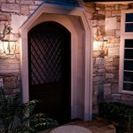 Luxury-Colonial-Outdoor-Wall-Light-Large-Size-20H-x-105W-with-Tudor-Style-Elements-Versatile-Design-Classy-Aged-Silver-Finish-and-Beveled-Glass-UQL1145-by-Urban-Ambiance-0-0