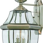 Luxury-Colonial-Outdoor-Wall-Light-Large-Size-20H-x-105W-with-Tudor-Style-Elements-Versatile-Design-Classy-Aged-Silver-Finish-and-Beveled-Glass-UQL1145-by-Urban-Ambiance-0