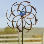 Plow-Hearth-52973-Metal-Wisp-Outdoor-Wind-Spinner-0