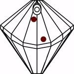 Rainbow-Maker-Swarovski-Crystal-40mm-Prism-SunCatcher-for-Window-Hanging-Feng-Shui-0-0