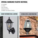 SPECILITE-Motion-Sensor-LED-Porch-Light-Outdoor–Special-Handling-Anti-Corrosion-Durable-Plastic-Material-Waterproof-Exterior-Wall-Security-Light-Fixtures-for-Yard-Garage–2-Pack-Wall-Lanterns-0-1