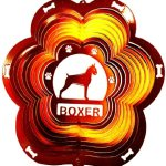 Stainless-Steel-Boxer-Dog-12-Inch-Wind-Spinner-Copper-0