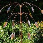 Stanwood-Wind-Sculpture-Kinetic-Copper-Triple-Spinner-Falling-Foliage-0-1