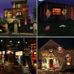Tradinno-Christmas-LED-Projector-Light-Waterproof-12-Patterns-Slides-Holiday-Party-Lights-for-Birthday-Halloween-Garden-Decoration-0-2