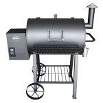Wood-Pellet-Grill-Smoker-Outdoor-BBQ-Cooker-Patio-Kitchen-0