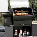 Wood-Pellet-Grill-Smoker-with-Patio-Cover700-Cooking-Area-6-in-1-Electric-Digital-Controls-Grill-for-Outdoor-BBQ-Smoke-Roast-Bake-Braise-and-BBQ-with-Storage-Cabinet-0-0