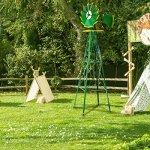 XtremepowerUS-8FT-Green-Metal-Windmill-Yard-Garden-Wind-Mill-0-0