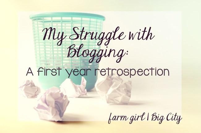 FarmGirlBigCity - First Year Retrospection