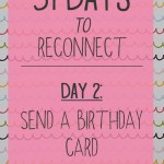 31 day challenge | Day 2: Send a birthday card