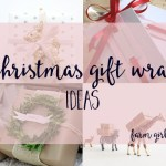 Unique gift wrap ideas for Christmas gifts
