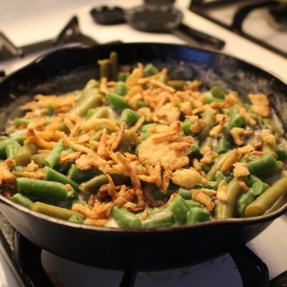 Lighten Up  and Skip the Canned Soup: Green Bean Casserole