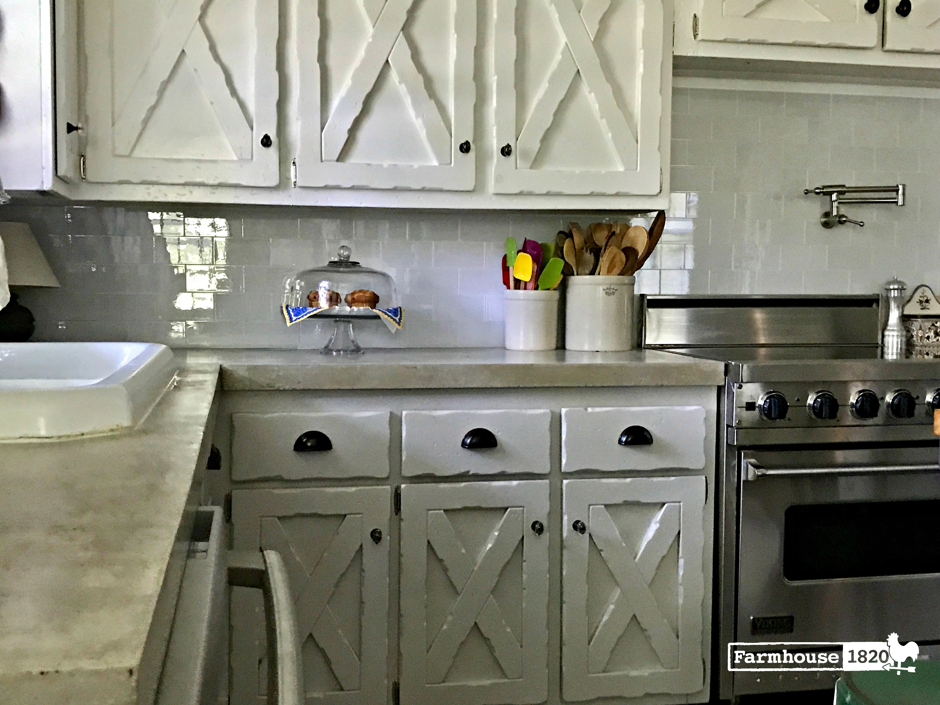 The Complete Kitchen Reveal - Farmhouse 1820 on Farmhouse Countertops  id=50231