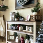Farmhouse Christmas Coffee Bar