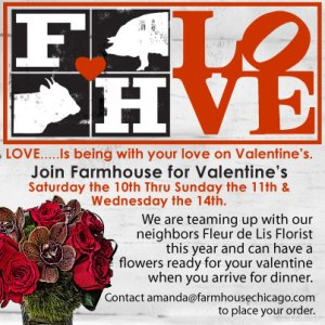 Valentine's Dinner At Farmhouse