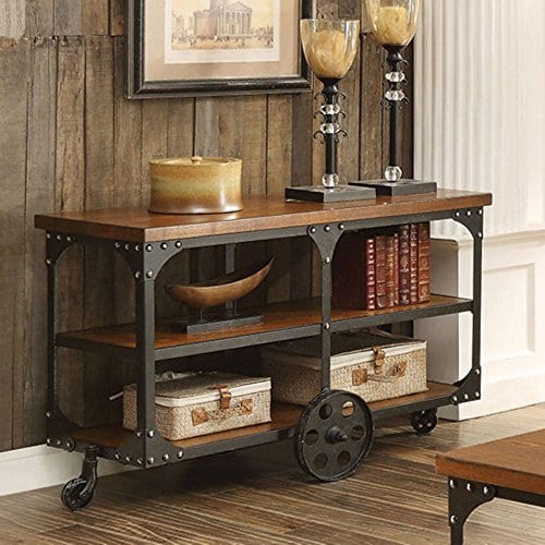 Attractive Coaster Furniture Industrial Sofa Table ...