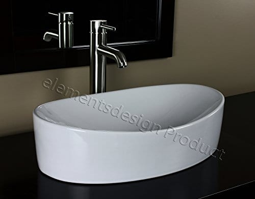 Youu0027re Viewing: Bathroom Ceramic Vessel Sink With Brushed Nickel Faucet  $109.99 (as Of August 30, 2018, 2:30 Am) U0026 FREE Shipping.