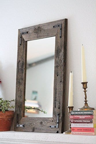 Rustic Reclaimed Wood Bathroom Vanity ...
