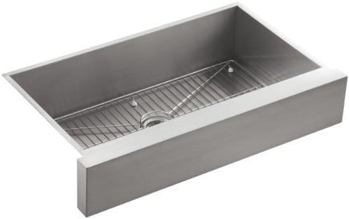 Kohler Vault Single Basin Stainless Steel Farmhouse Apron Sink, 36 ...