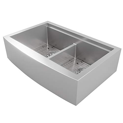 mowa cw60251 33 inch apron front low ledge workstation on farmhouse sink lowest price id=58758