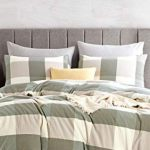 Atsense Duvet Cover King 100 Washed Cotton Bedding Duvet Cover Set 3 Piece Ultra Soft And Easy Care Simple Style Farmhouse Goals