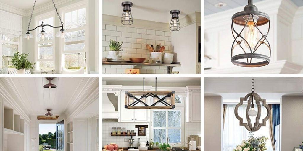 11 amazing farmhouse style lighting