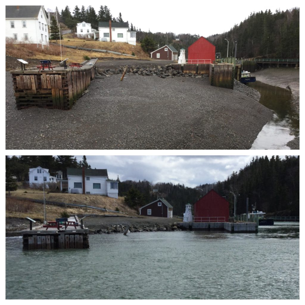 Hall's Harbour Low & High Tides
