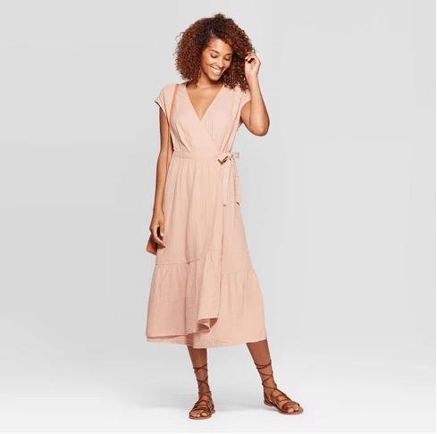 Farmhouseish - Ruffle Hem Midi Dress