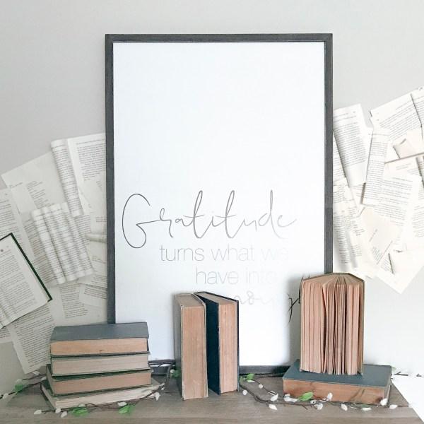 Farmhouseish - Book Wall Feature