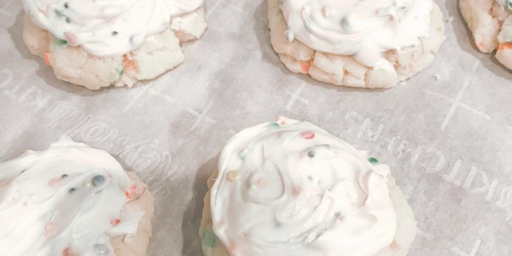 Farmhouseish - Gluten Free Funfetti Cookies
