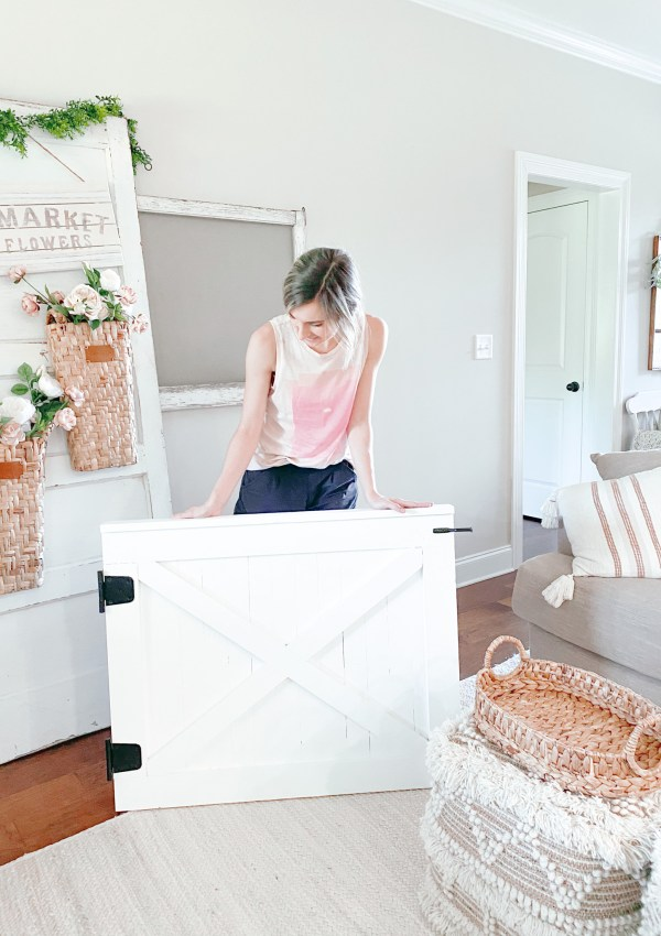 Barn Door Baby Gates You Can Make Yourself This Weekend