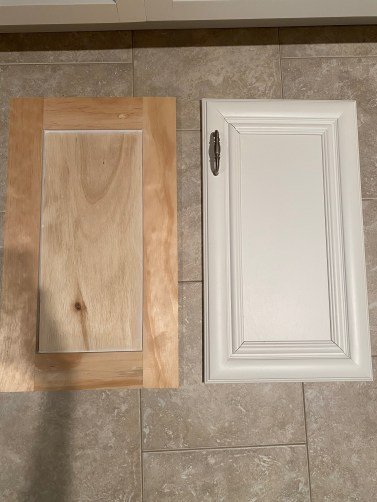 Diy Shaker Cabinet Doors How To Make Your Own For Less Farmhouseish