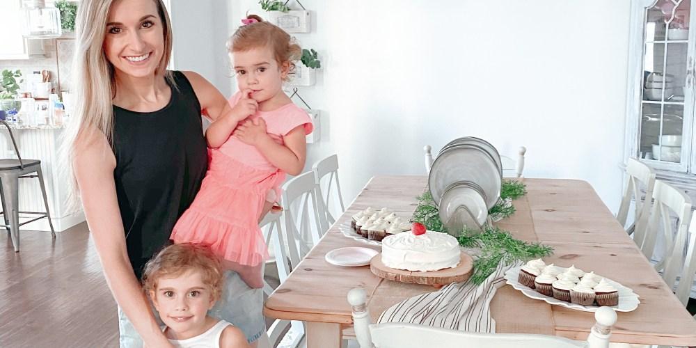 Farmhouseish - Strawberry Cake Recipe