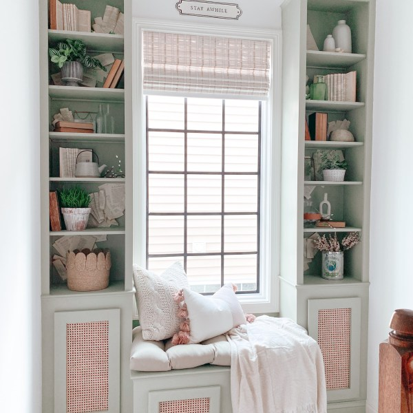 Farmhouseish - Cane Webbing Cabinet Doors