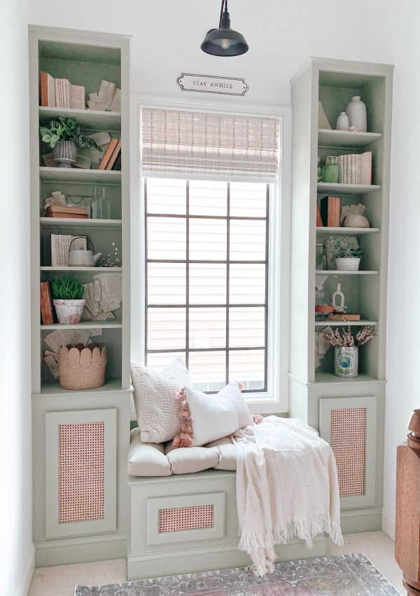 DIY Cabinet Doors With Cane Webbing – The On-Trend Look You Can Create Yourself