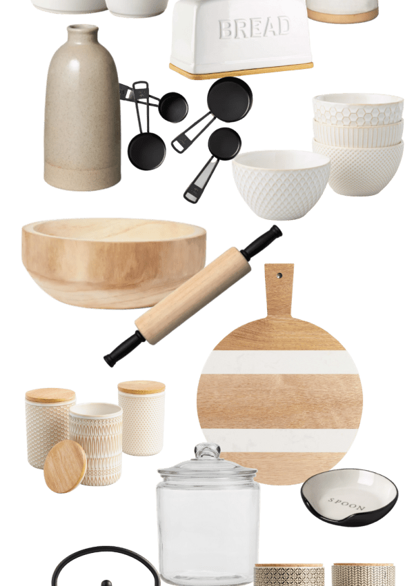 A Few Functional Items I'm Using To Decorate My Kitchen Right Now
