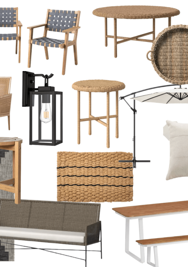 The Patio Furniture & Outdoor Decor I'm Loving Right Now