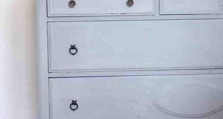 Milk Painted Dresser