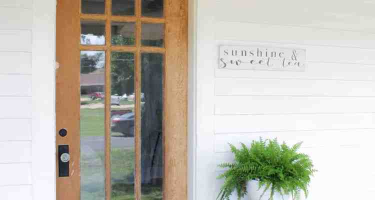 How to Strip Paint Off an Antique Wood Farmhouse Front Door