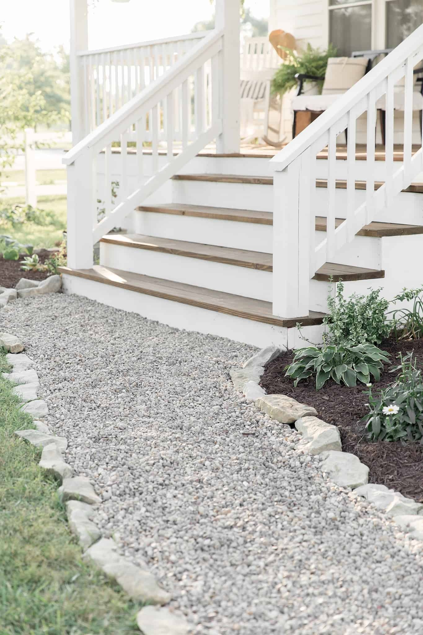 How To Cover Concrete Steps With Wood Farmhouse On Boone | Attaching Wood To Concrete Steps | Composite Decking | Handrail | Staircase | Screws | Deck Stairs