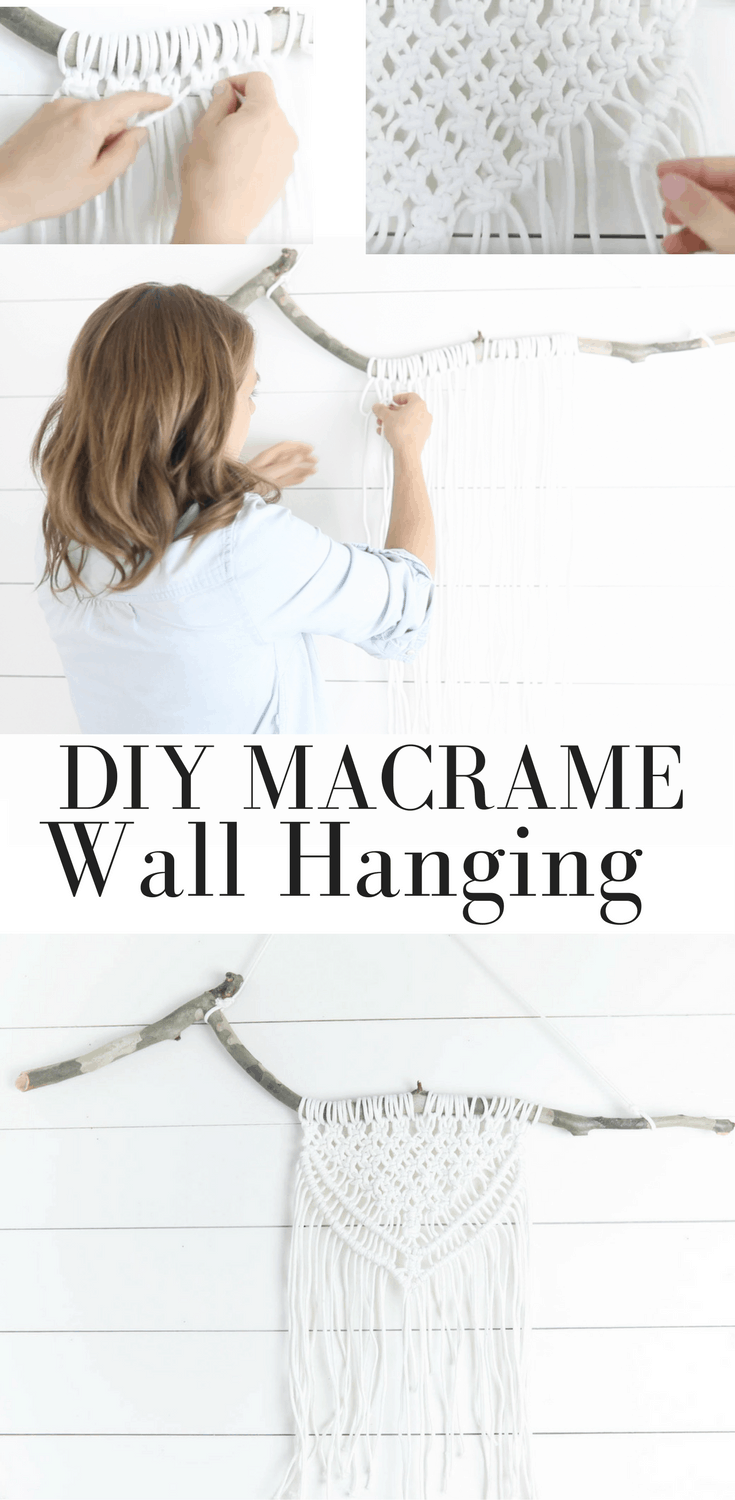 Learn Make a Simple Wall Hanging with this Macrame Wall Hanging DIY Video Tutorial