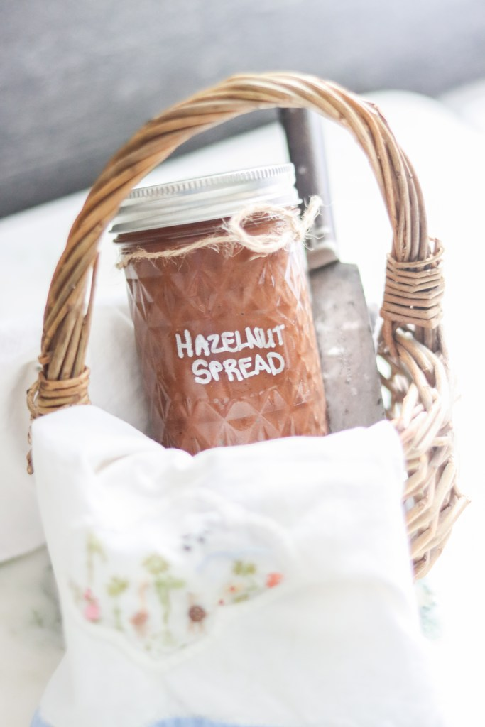 Homemade Healthy Hazelnut Chocolate Spread