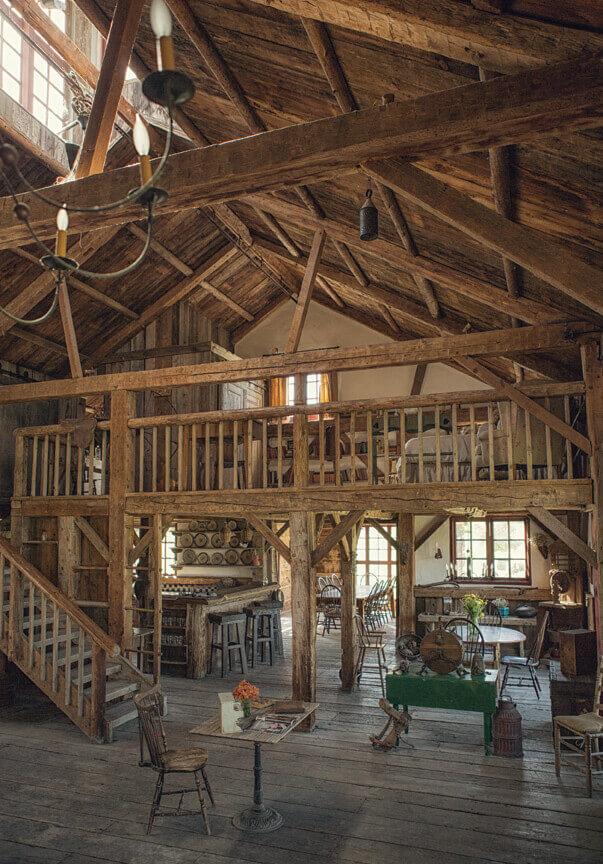 Interior Figueroa Mountain Farmhouse