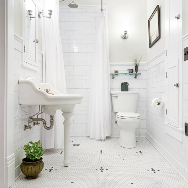 Master Bathroom REVEAL!! (with sources)